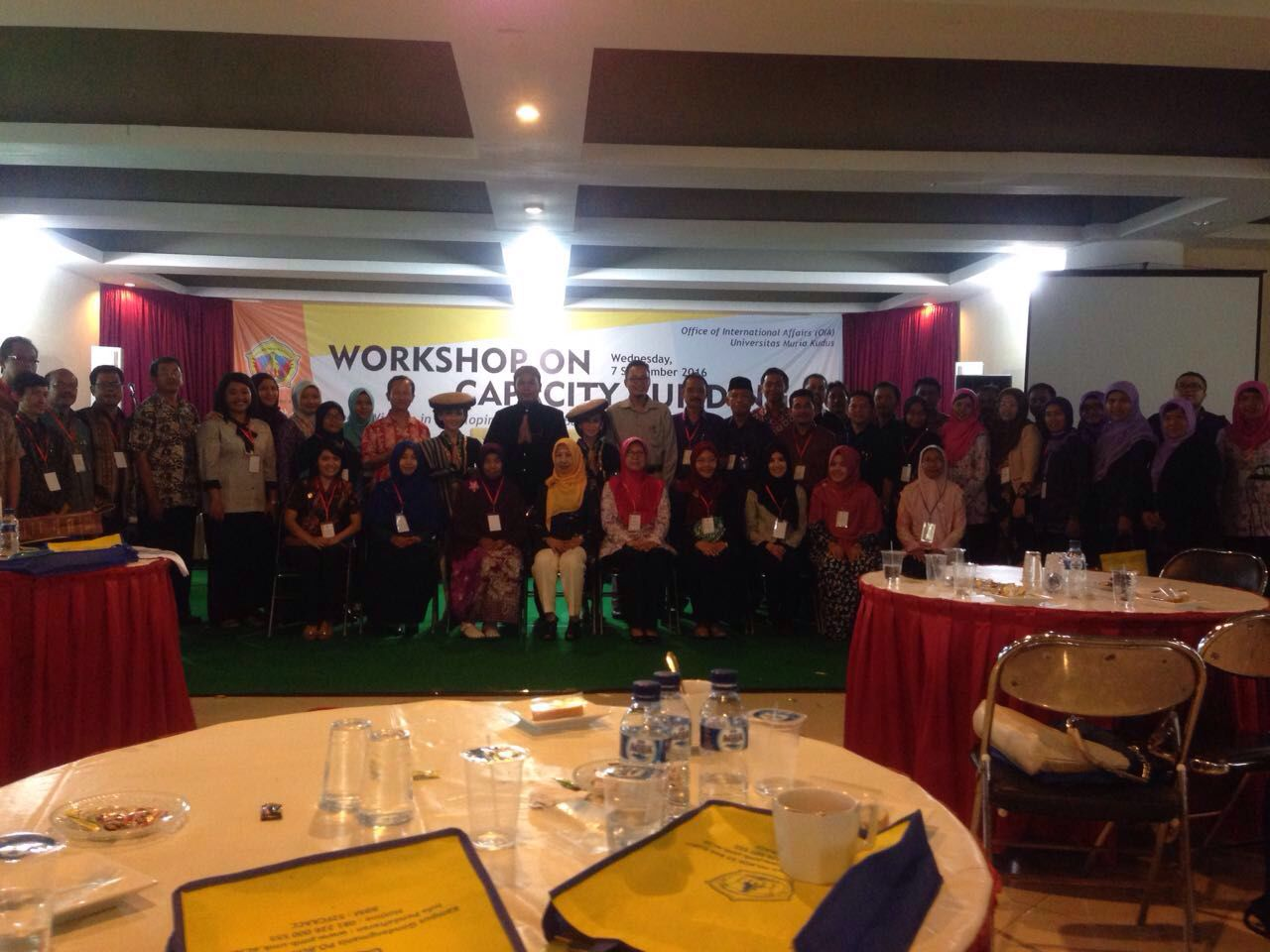 Foto Peserta Workshop di UMK