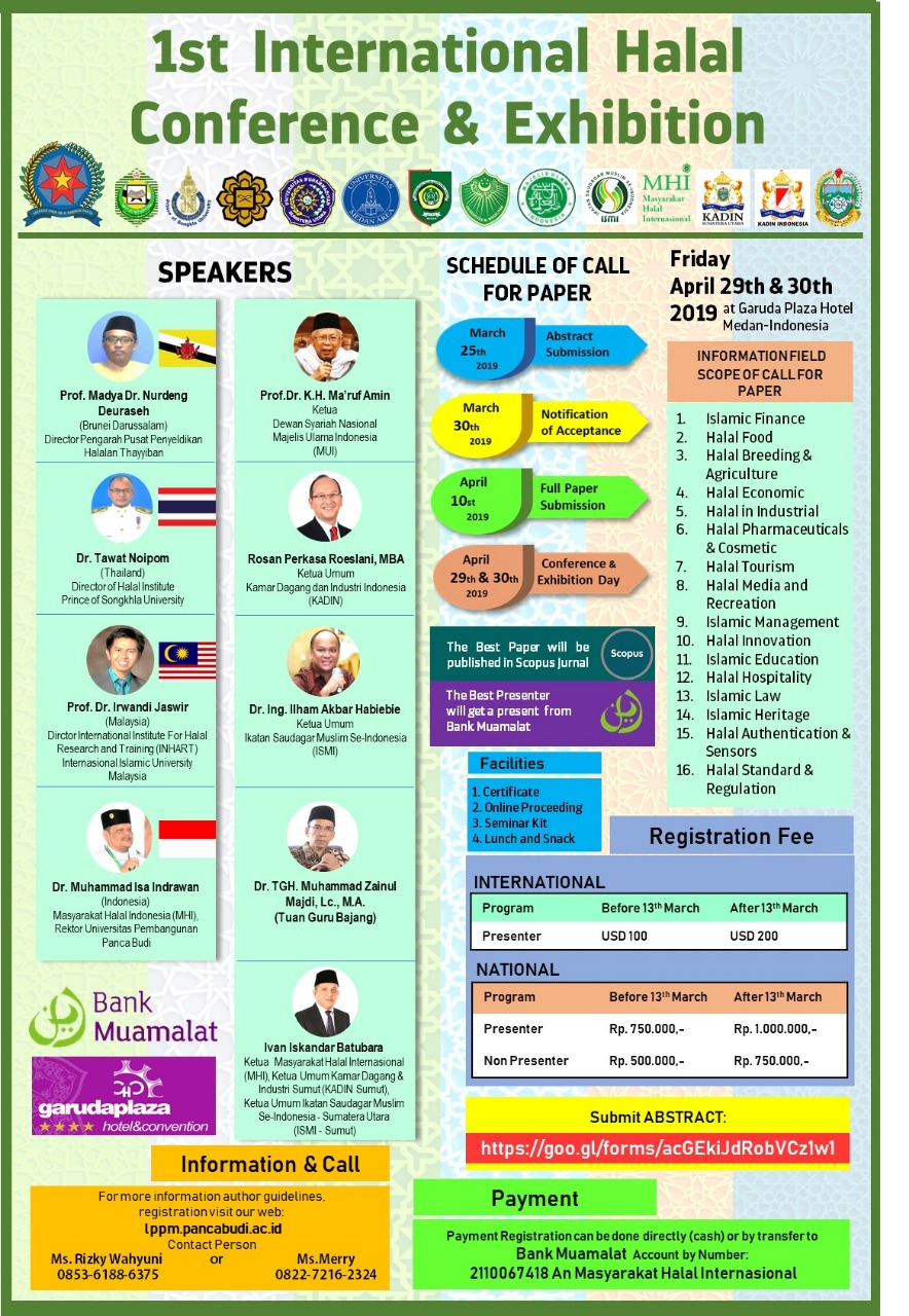 1st International Halal Conference & Exhibision