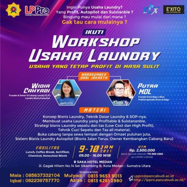 Workshop Usaha Loundry